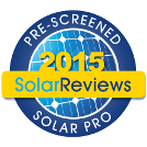 Pre-Screened Solar Pro: 2015 SolarReviews