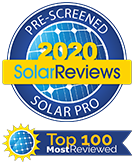 Pre-Screened Solar Pro: 2018 SolarReviews